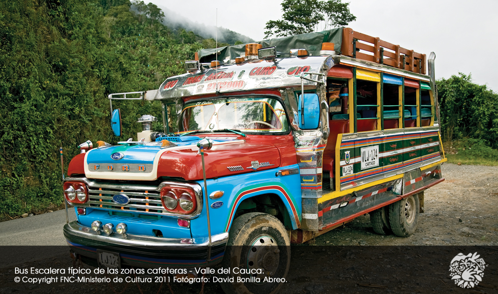 COFFEE CULTURAL LANDSCAPE. Colombia.